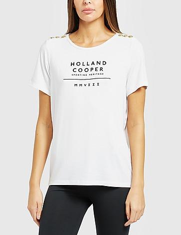 Holland Cooper Serif T-Shirt
