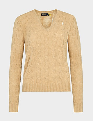 Polo Ralph Lauren Kimberly V-Neck Knitted Sweater
