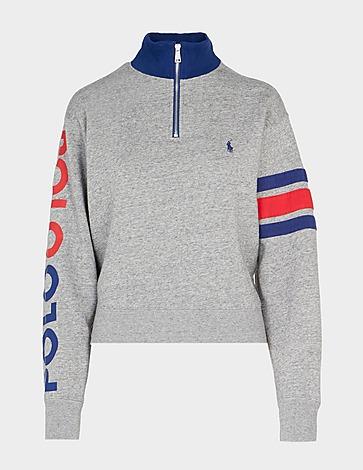 Polo Ralph Lauren Arm Logo 1/4 Zip Sweatshirt