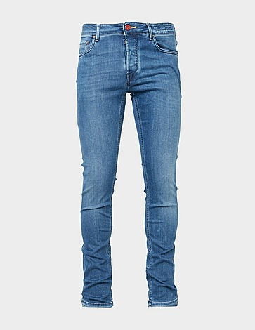 Handpicked Navy Stitch Jeans