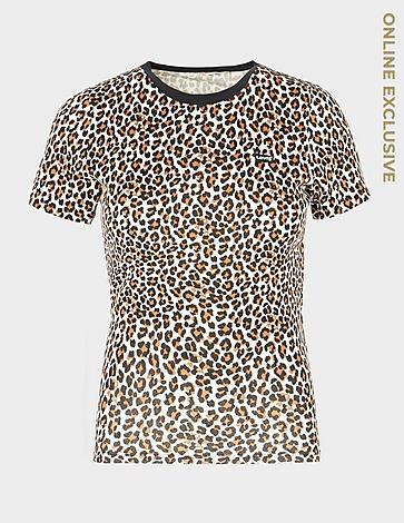Levis Small Logo Leopard Print T-Shirt