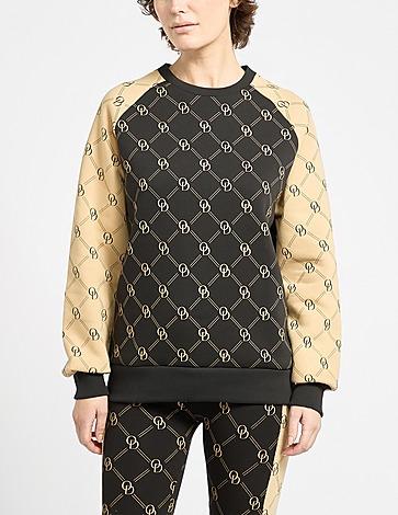ODolls Collection All Over Print Monogram Sweatshirt