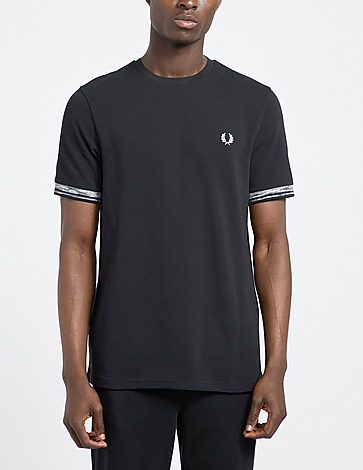 Fred Perry Space Dye Tipped T-Shirt