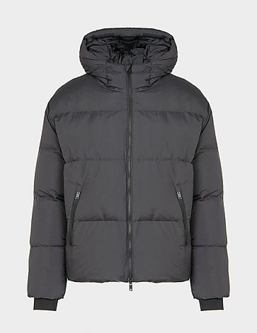 Represent Hooded Nylon Puffa Coat