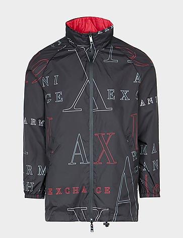 Armani Exchange All Over Logo Jacket