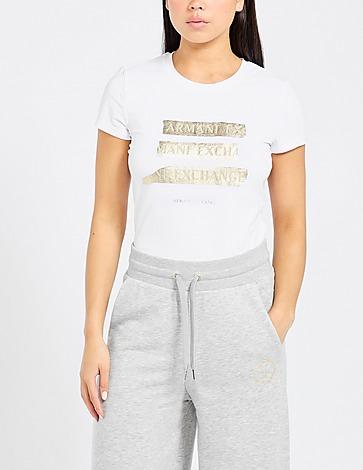 Armani Exchange Foil Logo T-Shirt