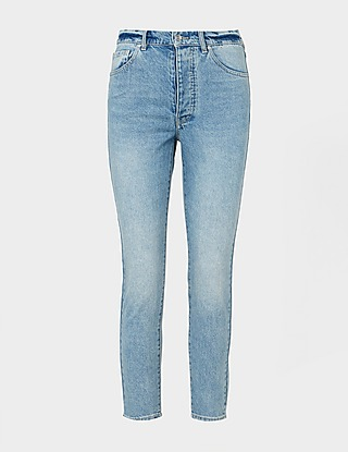 Armani Exchange Carrot Icon Patch Jeans