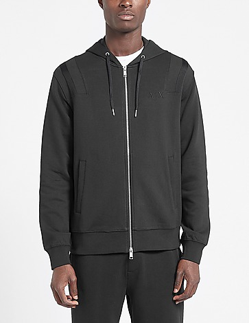 Armani Exchange Embroidered Front Logo Hoodie