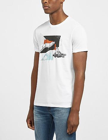 Armani Exchange Tree Graphic T-Shirt