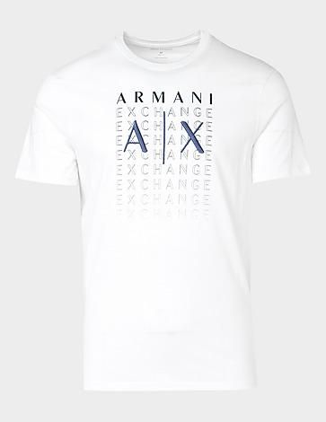 Armani Exchange Multi Logo T-Shirt
