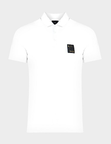 Armani Exchange Gold Patch Polo Shirt