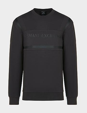 Armani Exchange Embroidered Front Logo Sweatshirt