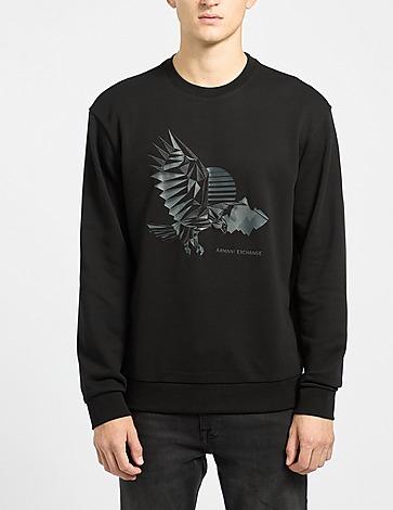 Armani Exchange Eagle Crew Sweatshirt