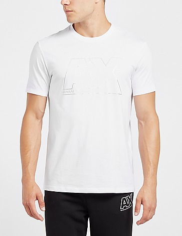 Armani Exchange Big Silver AX T-Shirt