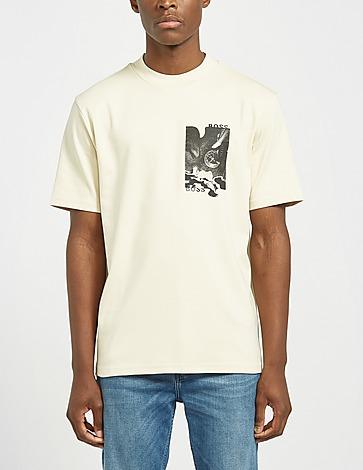BOSS Touche Small Print T-Shirt