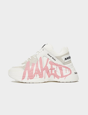 Naked Wolfe Track Logo Trainers