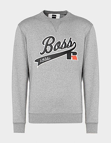 BOSS x Russell Athletic Script Sweatshirt