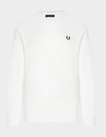 Fred Perry Back Patch Sweatshirt