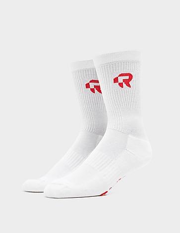 Red Run Activewear Parisian Night Logo Socks
