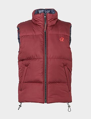 Red Run Activewear Short Puffer Gilet