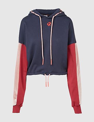 Red Run Activewear Parisian Night Cropped Hoodie