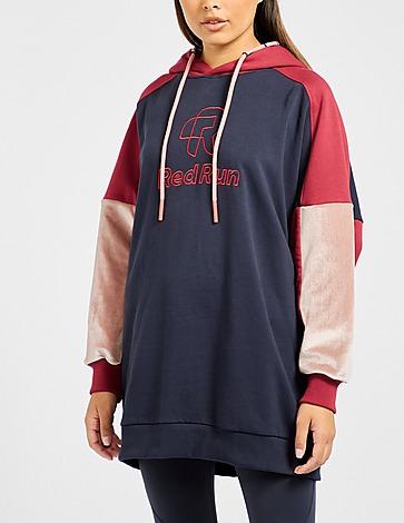 Red Run Activewear Parisian Night Oversized Drop Hoodie