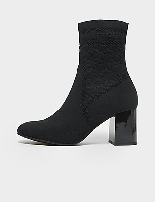 Tommy Hilfiger Knit Heel Boot