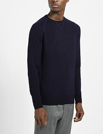 Aspesi Raglan Knitted Sweatshirt