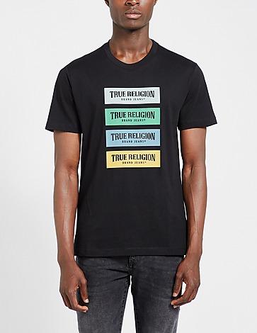True Religion Quad Box Logo T-Shirt