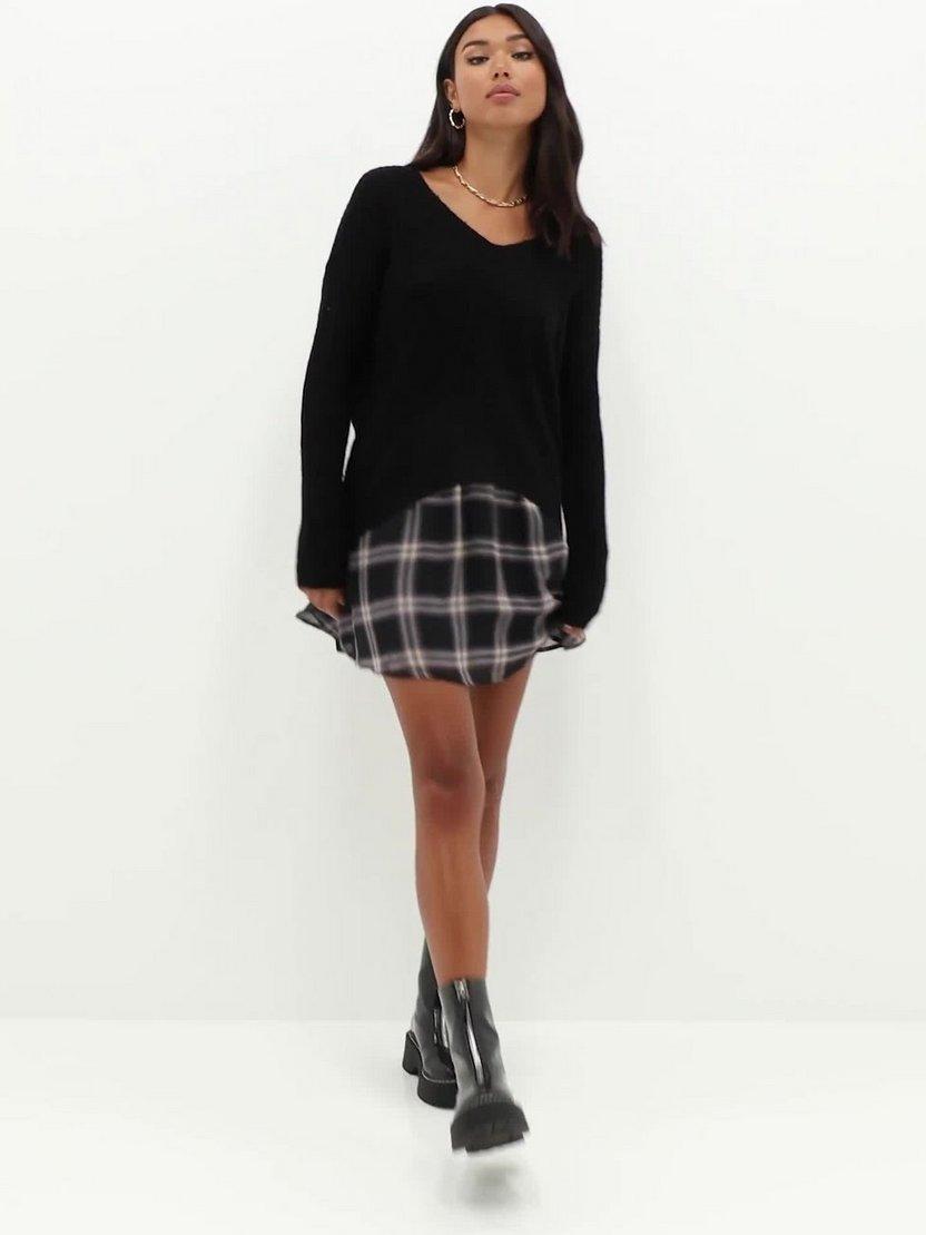 JDY Jdynew Megan L//S Pullover Knt Noos Su/éter para Mujer